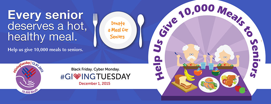 self help for the elderly giving tuesday poster-slider