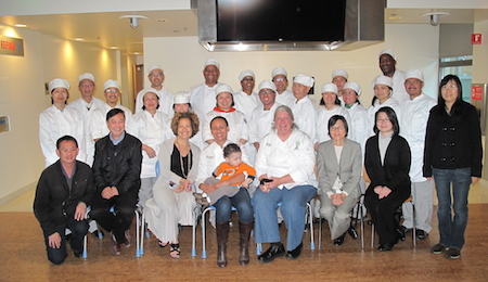 class of chefs