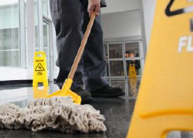 Custodial - Mopping Floors