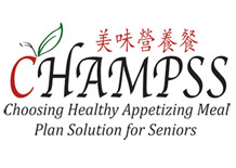 Logo - CHAMPSS Choosing Healthy Appetizing Meal Plan Solution for Seniors